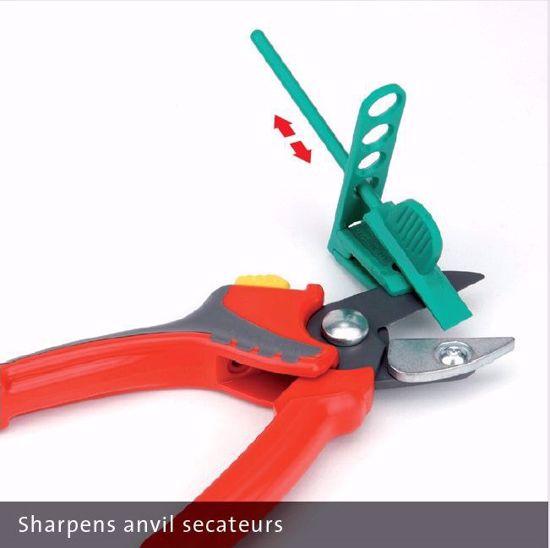 Multi-Sharp MS1601 Secateurs Pruner /& Lopper Sharpener