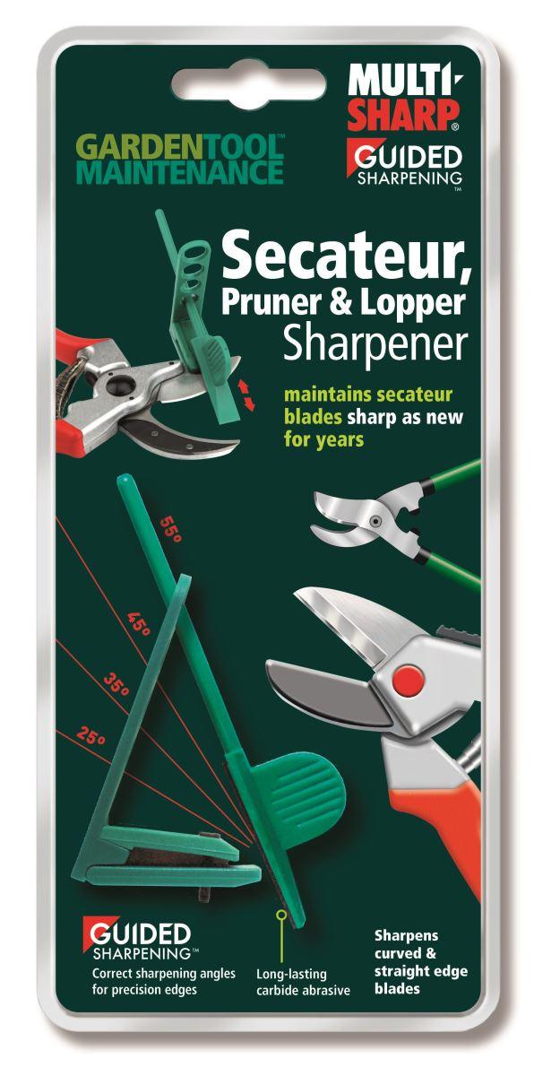 How to Sharpen Secateurs